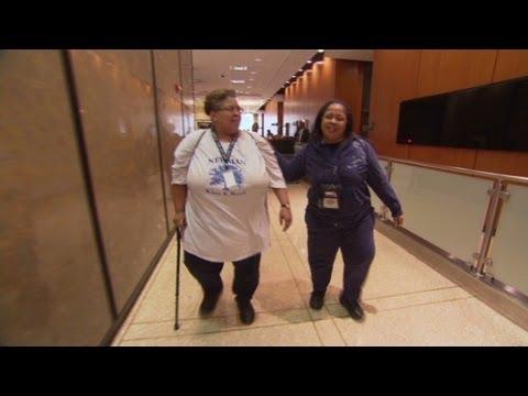 Walking program helps osteoarthritis patients