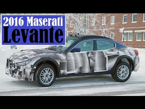 2016 Maserati Levante, spies stationed in frozen Scandinavia