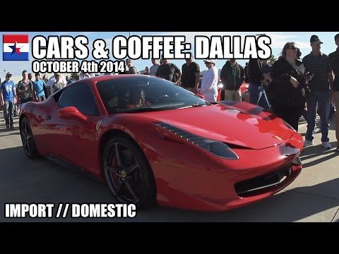 Cars & Coffee Dallas // October 4th 2014