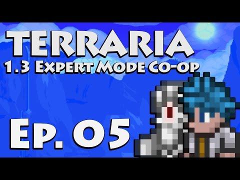 Unheeded Warnings [Terraria 1.3 Gameplay | Ep 5] (Terraria Expert Mode Co-op)