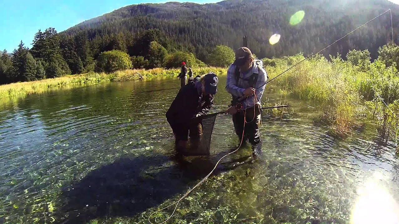 Fly fishing in alaska youtube for Alaska out of state fishing license
