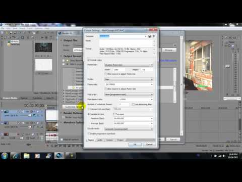 Sony Vegas Pro 11: Tutorial Overlay over video