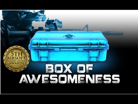 Airsoft Mystery Box Unboxing. Box Of Awesomeness  July 4th Big Bang Edition