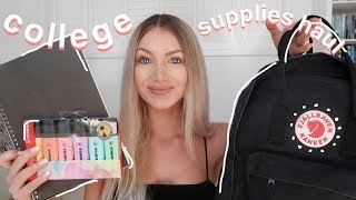 I GOT INTO COLLEGE/ UNIVERSITY!! | School Supplies & Stationery Haul