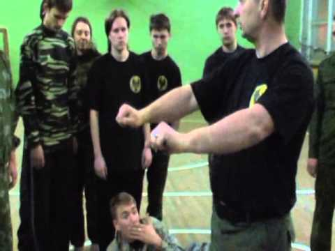 Systema . Training Wave Movements .Russian Martial Arts . Alexandr Solovyev . Image 1