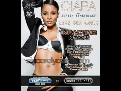 Love Sex Magic Acapella от певца Ciara Feat Justin Timberlake скачать песню
