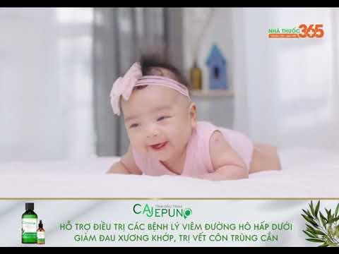 Tinh dầu tràm Huế Cajepuno – Hỗ trợ điều trị các bệnh lý viêm đường hô hấp dưới, giảm đau xương khớp, trị vết côn trùng cắn