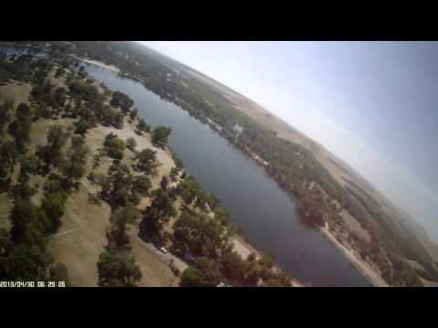 Rc plane crash at the lake