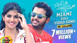 Miami Full Video Song 4K | Chal Mohan Ranga Video Songs | Nithiin | Megha Akash | Pawan Kalyan