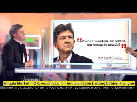 J-L MELENCHON @GREEK DEBT :: FEBRUARY 2015 English subtitles