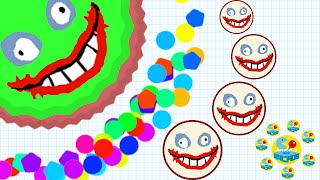 Agario Mobile Play Like A Beast And Awesome Moments In Experimental Mode (Agar.io Funny Moments)