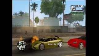 GTA SA: Xbox 360 modded cars and trainer proof