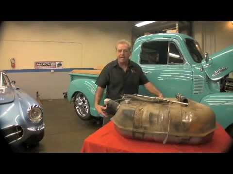 1954 Chevrolet Gas Tank Upgrade Installation By Scared