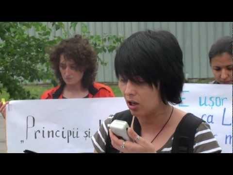 Protest împotriva homofobiei lui Marian Lupu