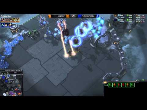 ZvP Bly vs Harstem -g2- Starcraft 2 HD polski komentarz Heart of the Swarm