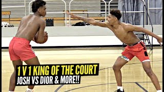 1v1 King of The Court: Josh Christopher vs Dior Johnson GO AT IT AGAIN!! Mayfair Runs