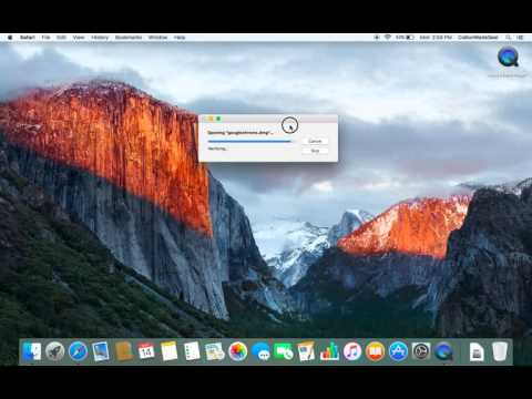 How to download google chrome on a mac