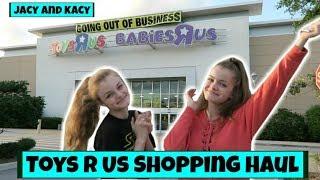 Toys R Us Closing Shopping Haul ~ Jacy and Kacy