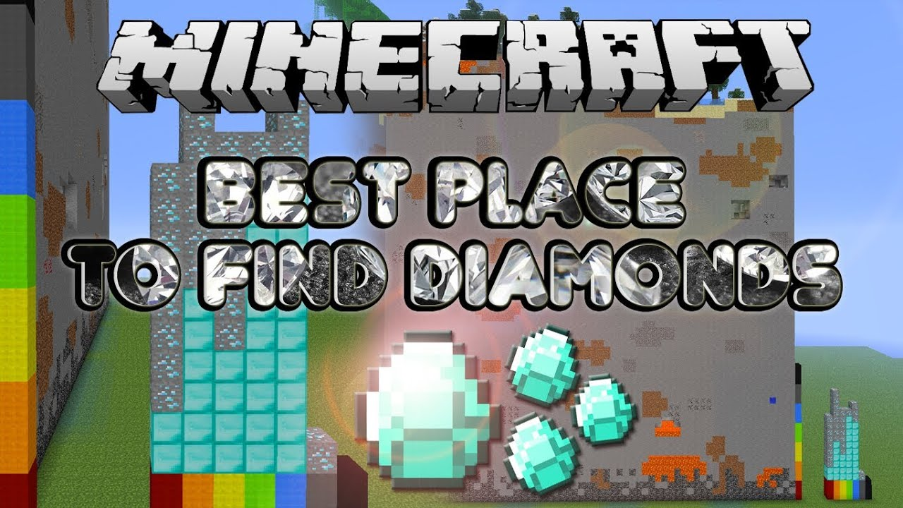 Minecraft best place to find diamonds mc science youtube for Best site to buy