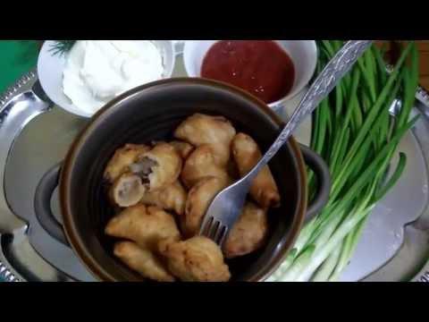 Чебуречки!!! (Очень вкусные мини чебуречки жареные во фритюре!!!)