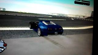 bugatti o carro mais rapido do mundo no gta sa