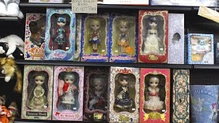 Pullip Dolls Store Tour PopFuzz Brooklyn New York City Doll Collection Video