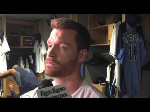 Rays' Logan Forsythe Thankful For Teammates Motivating Him