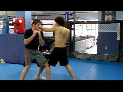 UFC Fighter Tom Lawlor Shows Nice MMA Drill at FFA! Image 1