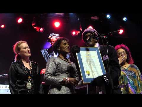 Bernie Worrell & Meryl Streep, Webster Hall, NYC 4-4-16