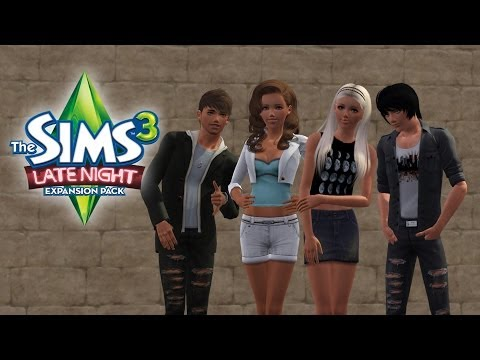 Let's Play: The Sims 3 Latenight - (Part 1) - Create a Sim