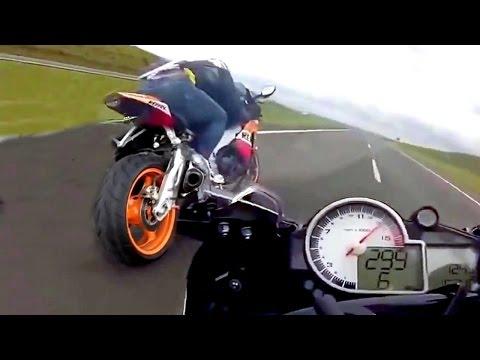20 Minute Crash - Crazy Freakn Biker