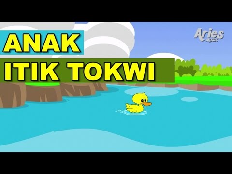 Lagu Kanak Kanak Alif & Mimi - Anak Itik Tokwi (Animasi 2D)