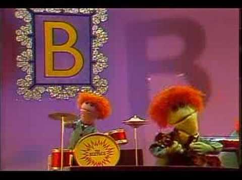 Sesame Street - Letter B