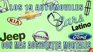 Los 19 Autos Modernos con Mas @C1D3NT3S M0RT@L3S  *CarsLatino*