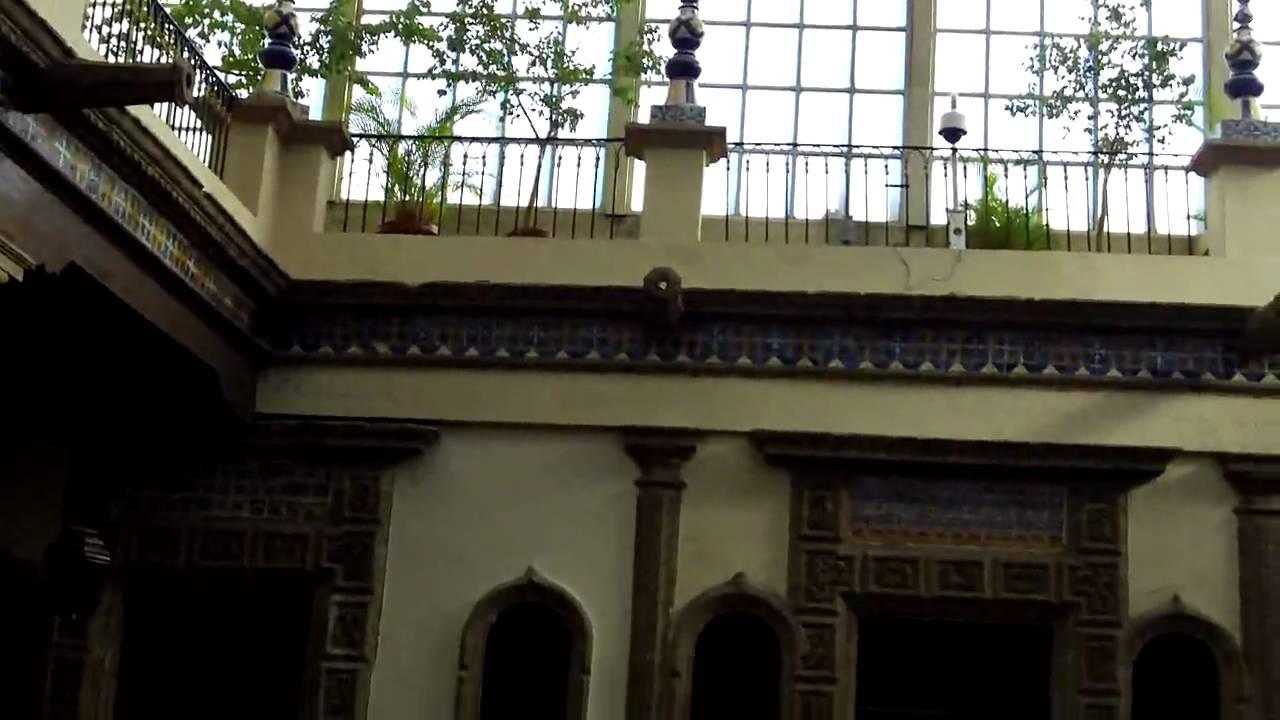 La casa de los azulejos en m xico df youtube for Casa de azulejos