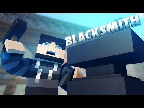 Blacksmithing Minecraft Style!!!