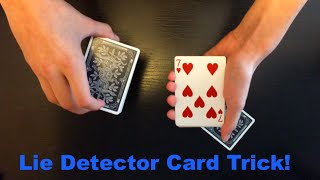 Lie Detector Card Trick Revealed