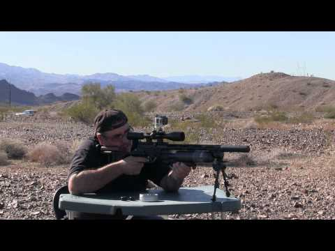 Evanix Sniper X2K .357 Cal Big Bore with Hawke Scope - by Airgun Expert Rick Eutsler / AirgunWeb