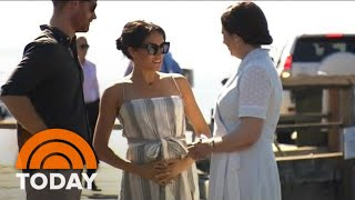 Pregnant Duchess Meghan Markle Takes Break From Royal Tour | TODAY
