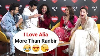 Varun Dhawan FLIRTS With Alia Bhatt Openly During Kalank Promotion