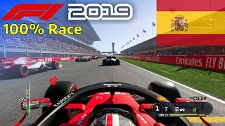F1 2019 - Let's Make Leclerc World Champion #5: 100% Race Spain