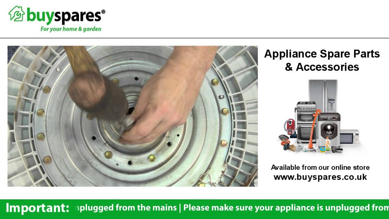 How To Change The Bearings In A Lg Washing Machine Youtube