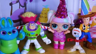 Lol Surprise Doll Unicorn Lily's Surprise Birthday Party!