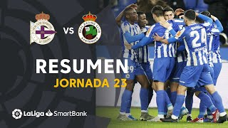 Resumen de RC Deportivo vs Real Racing Club (2-1)