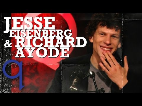 Richard Ayoade & Jesse Eisenberg on