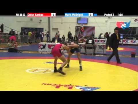 55 KG Round 1 - Cruse Aarhus Panther vs Mark McKnight NLWC