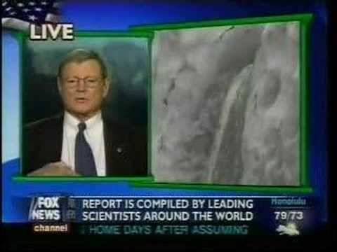 Sen. James Inhofe (R-OK) - Climate change is a Weather Channel conspiracy