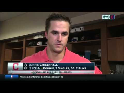 Lonnie Chisenhall's 3-hit game is a good sign after a slow start