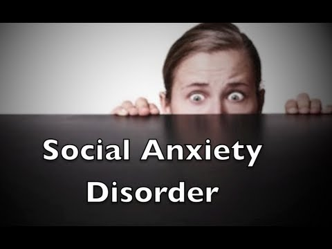 Social anxiety disorder essay outline