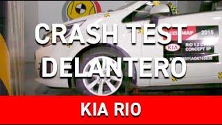 Crash Test Delantero Kia Rio